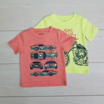 تی شرت پسرانه 20675 سایز 12 ماه تا 5 سال مارک WONDER KIDS