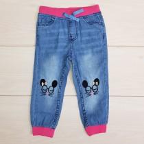 شلوار جینز دخترانه 20696 سایز 1.5 تا 7 سال مارک KIKI & KOKO
