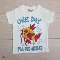 تی شرت پسرانه 20670 سایز 2 تا 8 سال کد 3 مارک Rebel