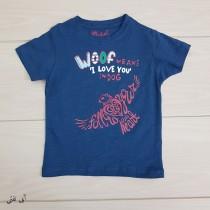 تی شرت پسرانه 20670 سایز 2 تا 8 سال کد 4 مارک Rebel