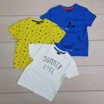 تی شرت پسرانه 20718 سایز 12 تا 36 ماه مارک KIABI