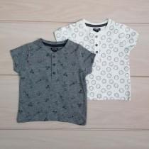 تی شرت پسرانه 20117 سایز 1 تا 36 ماه مارک KIABI