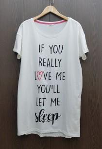 تی شرت سایز بزرگ زنانه 400689 سایز Free