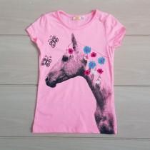 تی شرت دخترانه 20173 سایز 3 تا 8 سال مارک KIDS