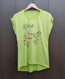 تی شرت زنانه 400763 سایز Free مارک Diyamor
