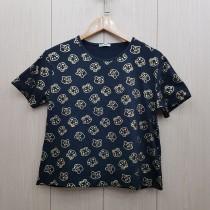 تی شرت کوتاه زنانه 400771 سایز Free  مارک Diyamor