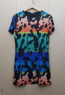 تی شرت بلند زنانه 400811 سایز Free مارک Diyamor