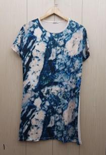 تی شرت بلند زنانه 400813 سایز Free مارک Diyamor