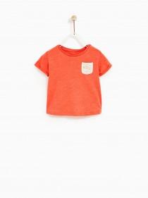 تی شرت دخترانه 20925 سایز 6 ماه تا 4 سال مارک ZARA