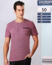 تی شرت مردانه 13863 سایز 48 تا 56 مارک hanbuby