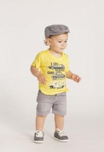 تی شرت پسرانه 20947 سایز 6 ماه تا 4 سال مارک BOBOLI