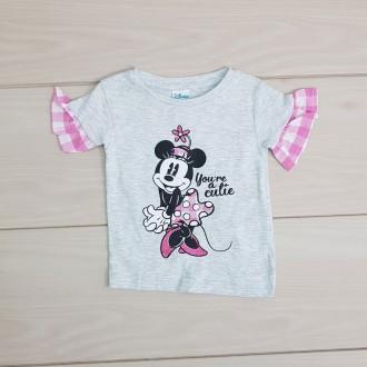 تی شرت دخترانه 20980 سایز 6 تا 18 ماه مارک DISNEY