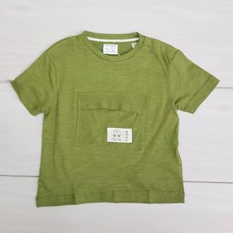 تی شرت پسرانه 21058 سایز 3 ماه تا 4 سال مارک ZARA