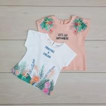 تی شرت دخترانه 20920 سایز 3 ماه تا 4 سال