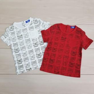 تی شرت پسرانه 21109 سایز 2 تا 8 سال مارک R&B
