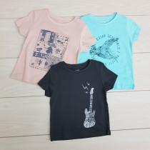 تی شرت پسرانه 21160 سایز 3 تا 10 سال مارک KIABI