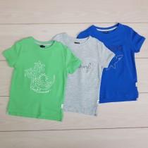 تی شرت پسرانه 21166 سایز 3 تا 12 سال مارک KIABI