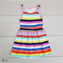سارافون دخترانه 21129 سایز 2 تا 8 سال مارک H&M