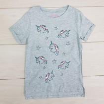 تی شرت دخترانه 21193 سایز 4 تا 13 سال مارک MYWEEKEND