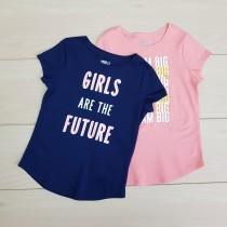 تی شرت دخترانه 21339 سایز 4 تا 16 سال مارک CRAZY