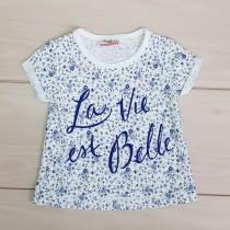 تی شرت دخترانه 21408 سایز 6 ماه تا 16 سال