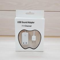 کارت صدا کابلی سفید 7/1 USB کد 51046
