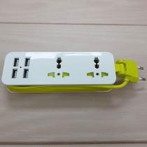 سیار برق  4 پورت USB کد 51055