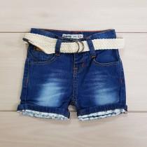 شلوارک پسرانه جینز 110225 سایز 9 تا 18 ماه مارک Denim