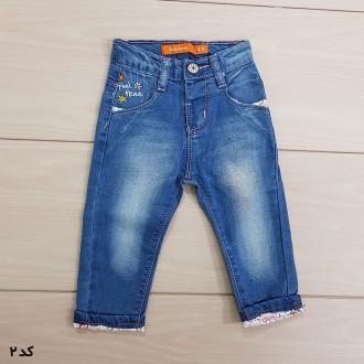 شلوار جینز دخترانه 110217 سایز 6 تا 24 کد 2 مارک Denim