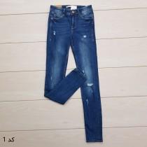 شلوار جینز زنانه 13973 سایز 24 تا 36 کد 1 مارک ZARA