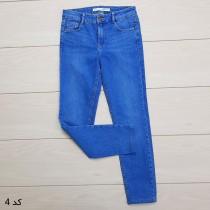 شلوار جینز زنانه 13973 سایز 24 تا 36 کد مارک ZARA