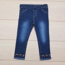 شلوار جینز دخترانه 21549 سایز 6 ماه تا 3 سال مارک TOPOMINI