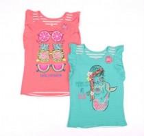 تی شرت دخترانه 16049 سایز 4 تا 8 سال مارک  GARNIMALS
