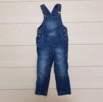 پیشبندار جینز شلواری 21934 سایز 12 ماه تا 4 سال مارک IMPIDIMPI