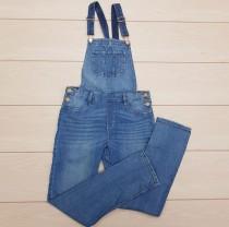 پیشبندار جینز 21951 سایز 8 تا 14 سال
