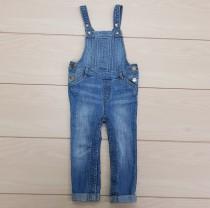 پیشبنددار شلواری جینز 21952 سایز 6 ماه تا 5 سال