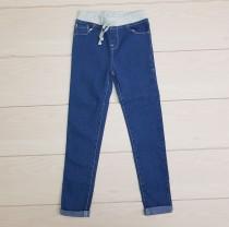 شلوار جینز کمرکش دخترانه 22234 سایز 2 تا 16 سال مارک LOVE