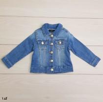 ژاکت جینز دخترانه 22270 سایز 9 تا 36 ماه مارک DENIM CO