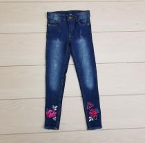 شلوار جینز دخترانه 22275 سایز 3 تا 8 سال