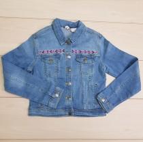 ژاکت جینز دخترانه 22261 سایز 7 تا 14 سال مارک MANGUUM