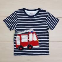 تی شرت پسرانه 22477 سایز 6 تا 24 ماه مارک FRENDZ