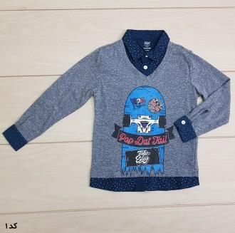 تی شرت پسرانه 22402 سایز 2 تا 8 سال مارک TEAM SPIRIT