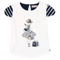 تی شرت دخترانه 22717 سایز 4 تا 16 سال مارک BOBOLI