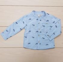 پیراهن پسرانه 22835 سایز 3 تا 24 ماه مارک ZARA