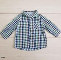 پیراهن پسرانه 22750 سایز 3 تا 36 ماه مارک OBAIBI