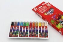 پاستل(مدادشمعی) جعبه مقوایی 12 رنگ کد17409
