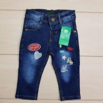 شلوار جینز دخترانه 22870 سایز 6 تا 36 ماه