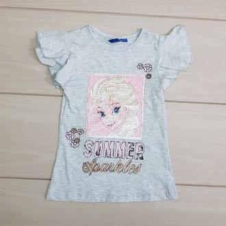 تی شرت دخترانه 22903 سایز 2 تا 8 سال مارک DISNEY