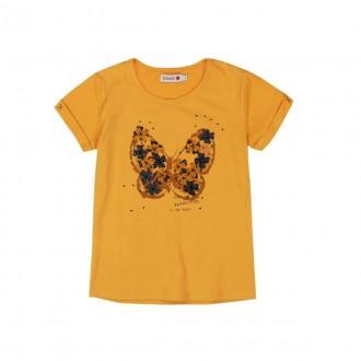 تی شرت دخترانه 22906 سایز 3 تا 16 سال مارک BOBOLI