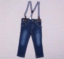 شلوار جینز پسرانه همراه با ساسبند 10851 سایز 12 ماه تا 6 سال مارک LUPILU